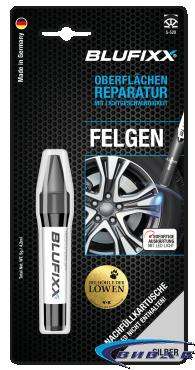UV ремонтен гел BLUFIXX за автомобилни джанти, сребрист, 5гр, резервен пълнител