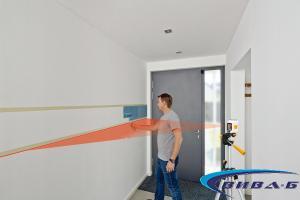 Линеен лазерен нивелир SmartCross-Laser set 150 6