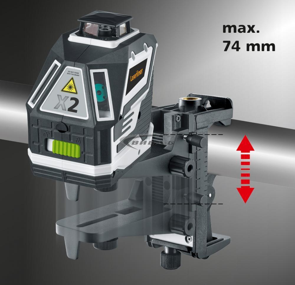 Зелен линеен лазер X2-Laser 5
