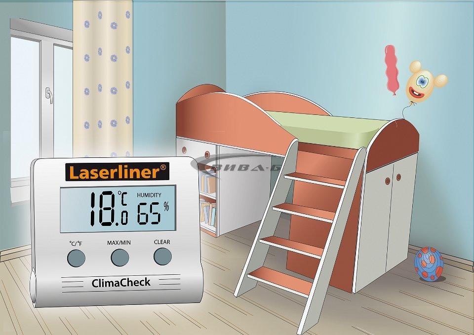 Безконтактен термометър ThermoSpot Plus + БОНУС ClimaCheck 2