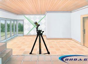 Линеен зелен лазерен нивелир EasyCross-Laser Green 2