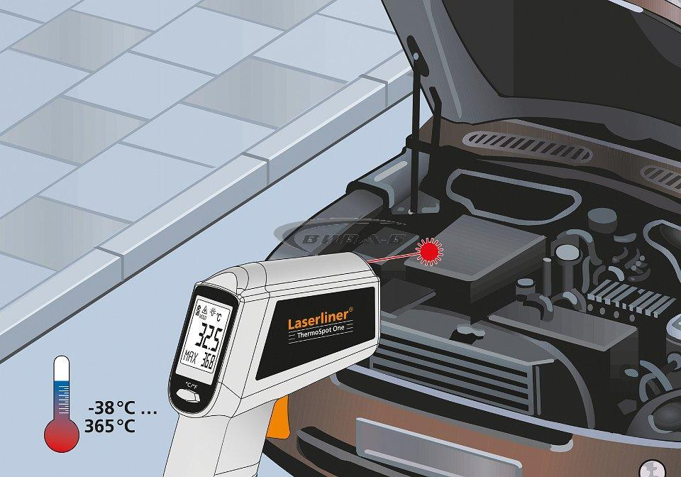 Безконтактен термометър ThermoSpot Plus + БОНУС ClimaCheck 6