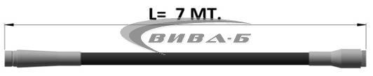 Високочестотен вибратор RUNNER PLUS 65 1