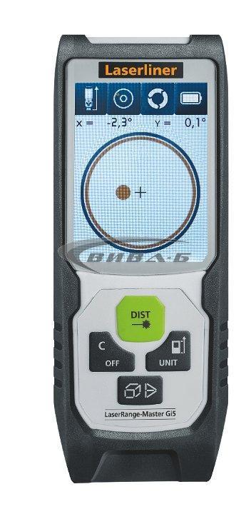 Зелена лазерна ролетка Laserliner LaserRange-Master Gi5 3