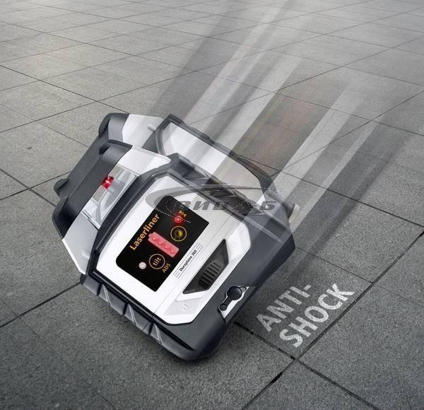 Червен линеен лазер DuraPlane 360 set 175 см 5