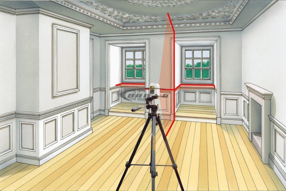 Линеен лазерен нивелир SmartCross-Laser set 150 7
