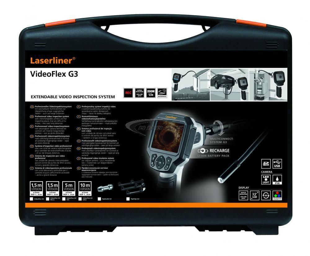 Видеоконтролер Laserliner VideoFlex G3 XXL 9 мм 5м 1