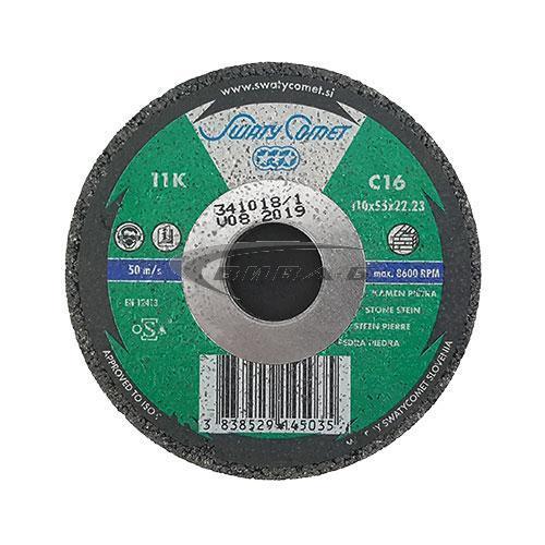 Карбофлексова камбана за шлайфане на мозайка SwatyComet 110x55x22.2 C36