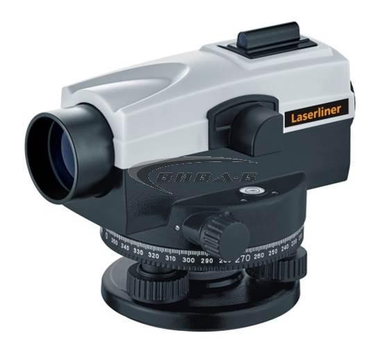 Оптичен нивелир Laserliner AL 26 Plus комплект с тринога с куполна глава и лата 2