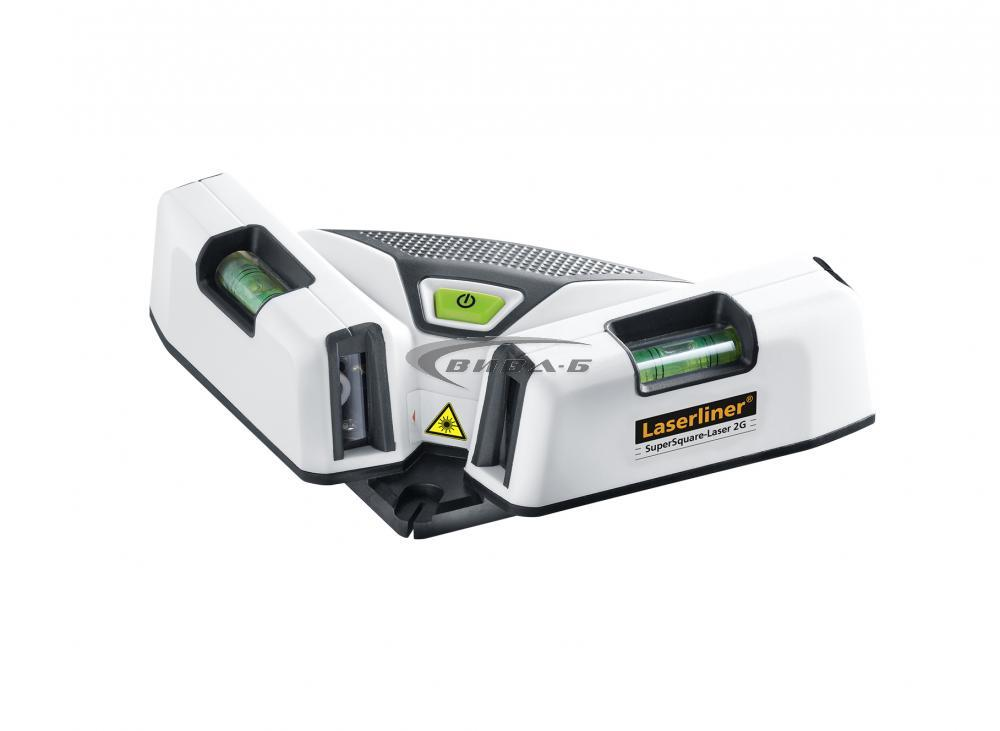Зелен линеен лазерен  SuperSquare Laser 2G Plus 2